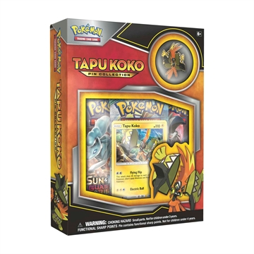 Pokemon kort - Tapu Koko Pin Collection